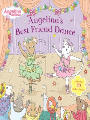 cover image of Angelina's Best Friend Dance