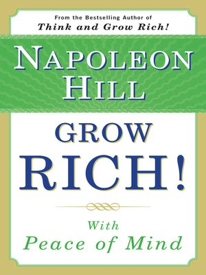 cover image of Grow Rich! With Peace of Mind