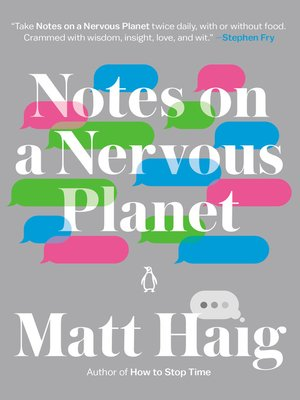 cover image of Notes on a Nervous Planet