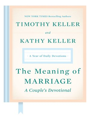 cover image of The Meaning of Marriage: A Couple's Devotional