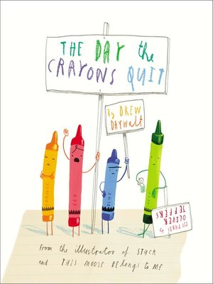 cover image of The Day the Crayons Quit