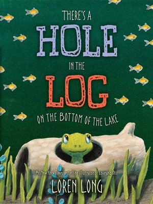 cover image of There's a Hole in the Log on the Bottom of the Lake