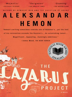 cover image of The Lazarus Project