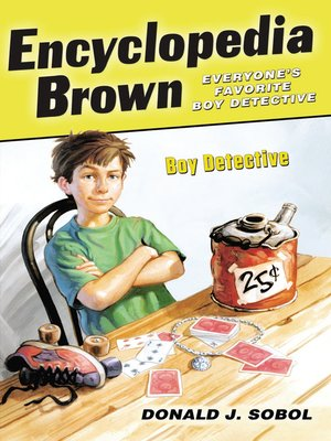 cover image of Encyclopedia Brown, Boy Detective