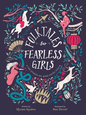 cover image of Folktales for Fearless Girls