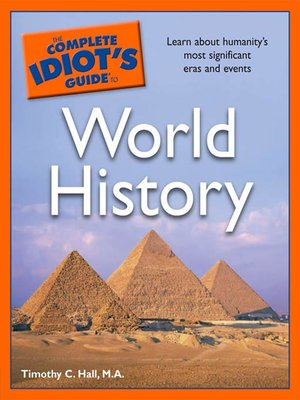 cover image of The Complete Idiot's Guide to World History