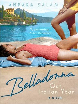 cover image of Belladonna