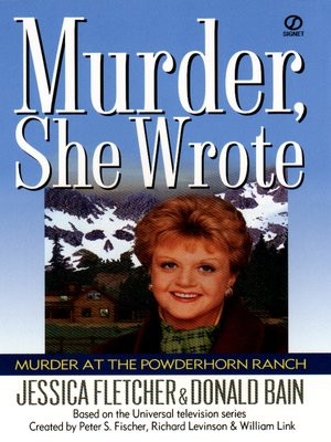 cover image of Murder at the Powderhorn Ranch
