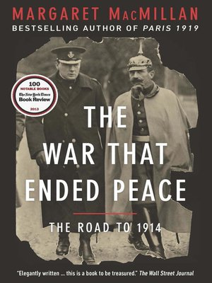cover image of The War That Ended Peace