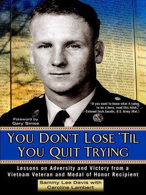 cover image of You Don't Lose 'Til You Quit Trying