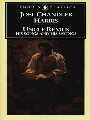 cover image of Uncle Remus