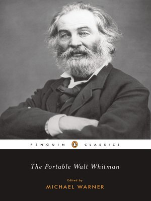 cover image of The Portable Walt Whitman