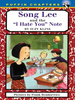 cover image of Song Lee and the I Hate You Notes