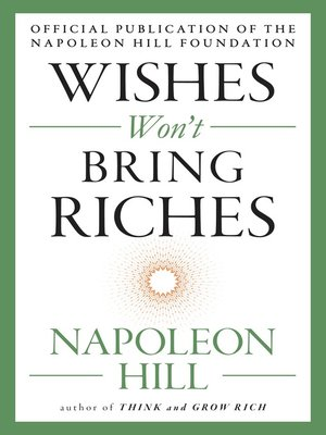 cover image of Wishes Won't Bring Riches