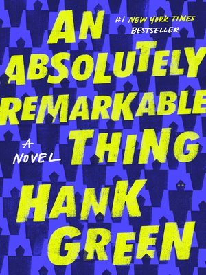 cover image of An Absolutely Remarkable Thing