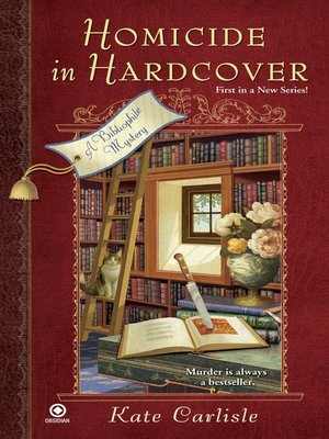 cover image of Homicide in Hardcover: a Bibliophile Mystery