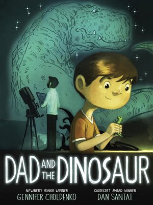 cover image of Dad and the Dinosaur