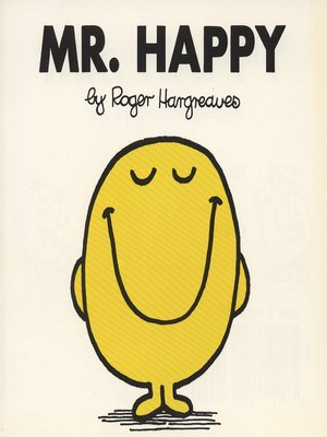 cover image of Mr. Happy