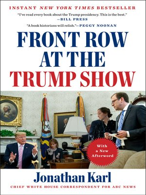 cover image of Front Row at the Trump Show