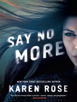 cover image of Say No More