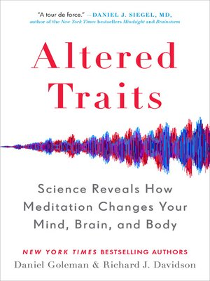 cover image of Altered Traits