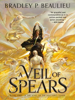 cover image of A Veil of Spears