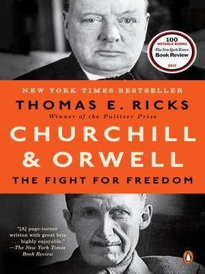 cover image of Churchill and Orwell