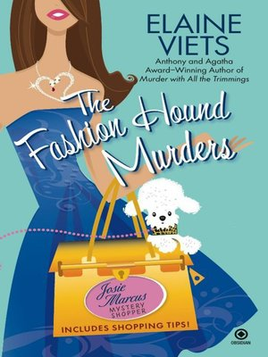 cover image of The Fashion Hound Murders