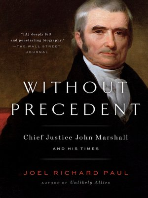 cover image of Without Precedent