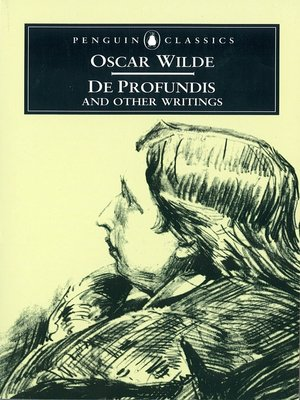 cover image of De Profundis and Other Writings
