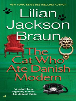 cover image of The Cat Who Ate Danish Modern