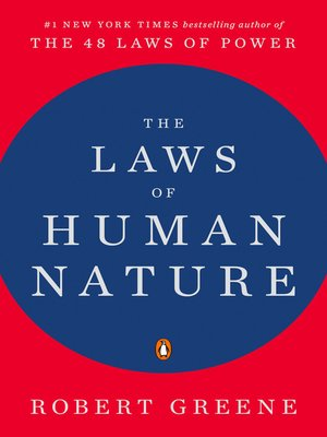 cover image of The Laws of Human Nature