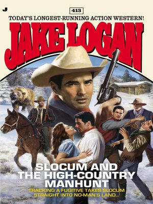 cover image of Slocum and the High-Country Manhunt