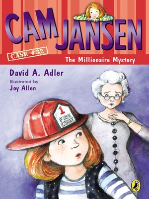 cover image of Cam Jansen and the Millionaire Mystery