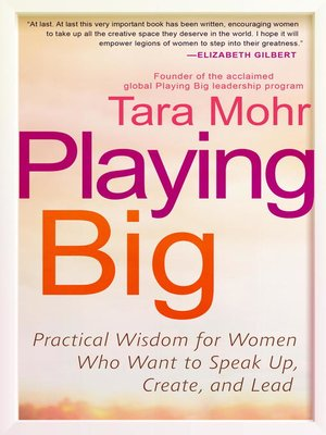 cover image of Playing Big