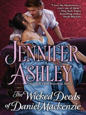 cover image of The Wicked Deeds of Daniel Mackenzie