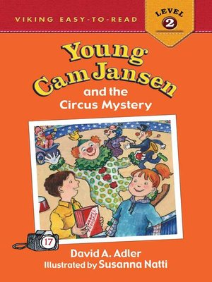 cover image of Young Cam Jansen and the Circus Mystery