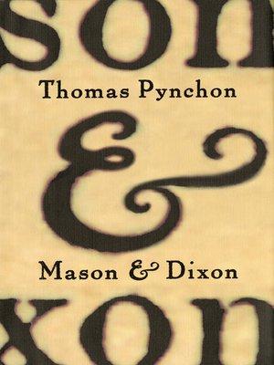 cover image of Mason & Dixon