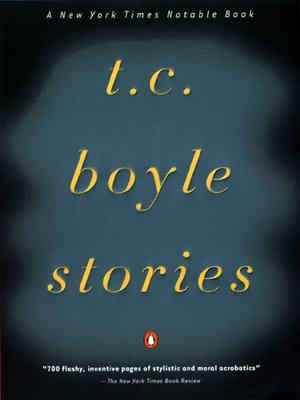 cover image of T. C. Boyle Stories