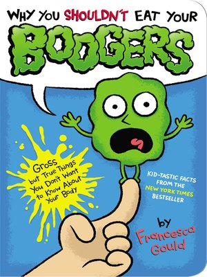 cover image of Why You Shouldn't Eat Your Boogers