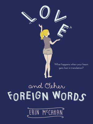 cover image of Love and Other Foreign Words