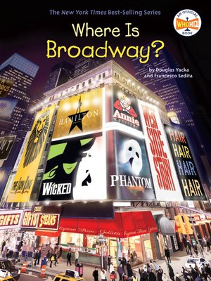 cover image of Where Is Broadway?
