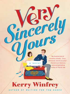 cover image of Very Sincerely Yours
