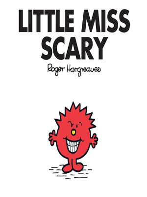 cover image of Little Miss Scary