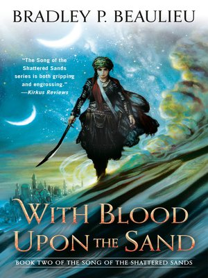 cover image of With Blood Upon the Sand