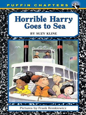 cover image of Horrible Harry Goes to Sea
