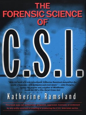 cover image of Forensic Science of C. S. I.