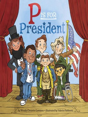 cover image of P Is for President