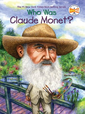 cover image of Who Was Claude Monet?
