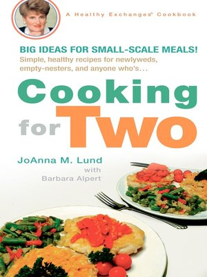 cover image of Cooking for Two